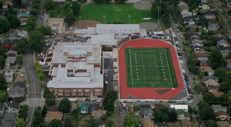 Garfield High School Gymnasium Field Citadel National Construction Group